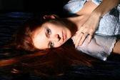 Red hair girl — Stock Photo