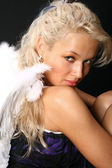 Wings girl — Stock Photo