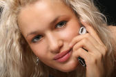 Telefonanrufe — Stockfoto