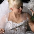 Happy bride — Stock Photo #10376730