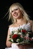 Happy blond — Stock Photo