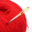 Foto Stock: Needle thread