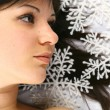 christmas girl&quot — Stock Photo #10459782