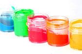 Paleta de colores de pintura — Foto de Stock