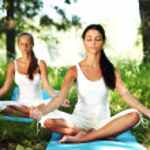 Lotus yoga — Stock Photo #10533011
