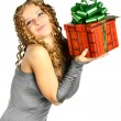Christmas girl — Stock Photo #10599342