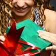 Christmas girl — Stock Photo #10599372