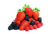 Big berry pile — Stock Photo