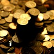 Stock Photo: Golden coins