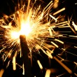 Yellow sparkler — Stock Photo #10643623