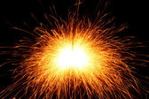 Sparks background — Stock Photo