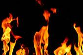 пламя огня — Стоковое фото