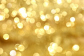 Golden bokeh — Stock Photo