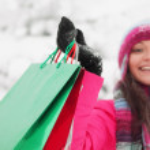 Winter shopping — Stock Photo #8079526