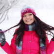 Winter women - Stock Photo