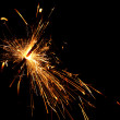 Holiday sparkler - Stockfoto