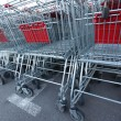 Shoping carts — Stock Photo