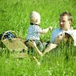 Family picnic — Stock Photo #8566131