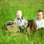 Family picnic — Stock Photo #8566136
