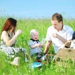 Family picnic — Stock Photo #8566151