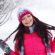 Stock Photo: Winter women
