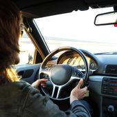 Sürücü — Stok fotoğraf