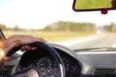 Araba sürmek — Stok fotoğraf