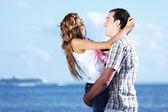 Kram se på havet — Stockfoto