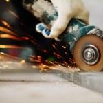 Metal sawing — Stock Photo #8694812