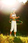 Hula hoop — Stock Photo
