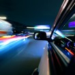 Night car drive — Stock Photo #8925349