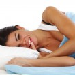 Sleeping woman — Stock Photo #8941832