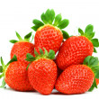 Strawberry pile isolated — Stock Photo #8979162