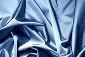 Blue satin — Stock Photo