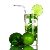 Mojito on white — Stock Photo