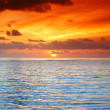 Sunset on sea — Stock Photo #9030401
