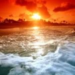 Ocean sunrice — Stock Photo #9053418