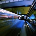 Night car drive — Stock Photo #9053452