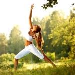 Yoga — Foto Stock