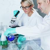 Scientifique de la chimie — Photo