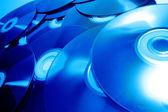 CD pozadí — Stock fotografie