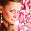 Orchid woman — Stock Photo #9267741