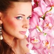Orchid woman — Stock Photo #9267743