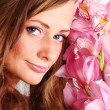 Orchid woman — Stock Photo #9267747