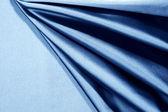 Niebieska satyna — Zdjęcie stockowe