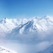 Top of alps — Stock Photo