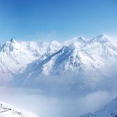 Top van alpen — Stockfoto