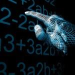 Hand mathemathics — Stock Photo
