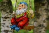 Garden dwarf — Stock Photo