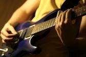 Гитарное соло — Стоковое фото